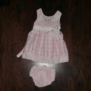 Bonnie Baby Other - Pink plaid dress