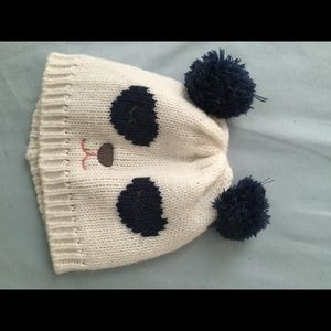Carter's Other - Navy blue / white panda hat 🐼