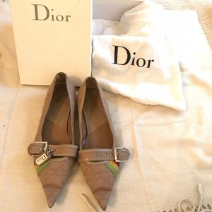 ✨PRICECUT✨ DIOR pointed toe flats