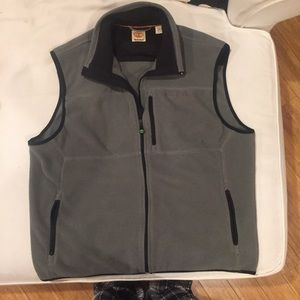 Timberland Other - Timberland Men's Gray fleece Vest size XL