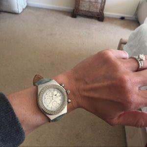 Technomarine Accessories - Ladies TechnoMarine Strap Watch w/ Diamond Bezel