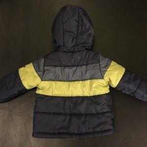 CARTER'S Toddler Boy Puffer Warm Winter Hood Coat
