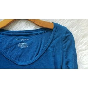 Liz Lange for Target Tops - Blue Maternity Long Sleeve Top
