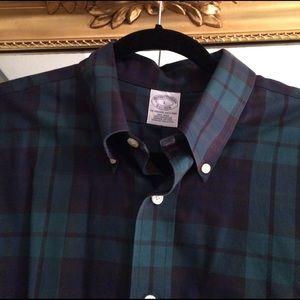 Brooks Brothers Other - EUC! Brooks Brothers slim fit sport shirt, L.