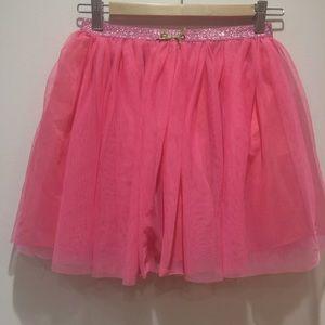 Pink tulle full skirt for girls by Zara