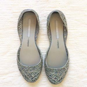 Melissa Shoes - Melissa Campana Zigzag flats