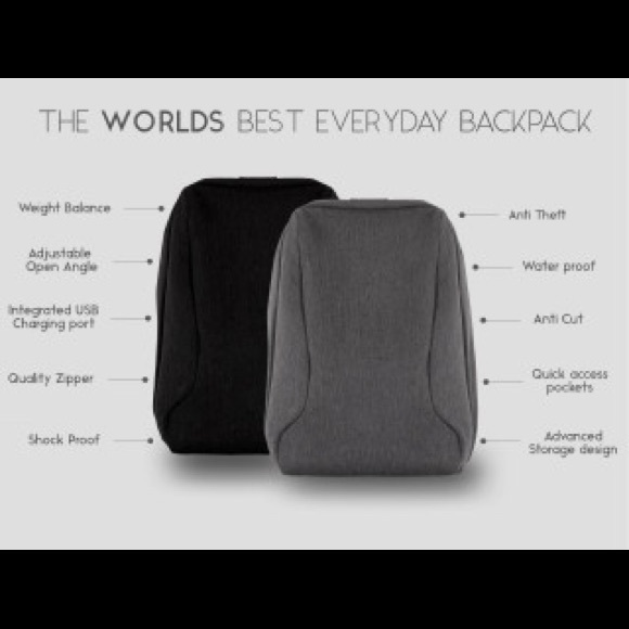 THE BERG BACKPACK -THE BEST ANTI THEFT EVERYDAYBAG 6b7a41d31b43e