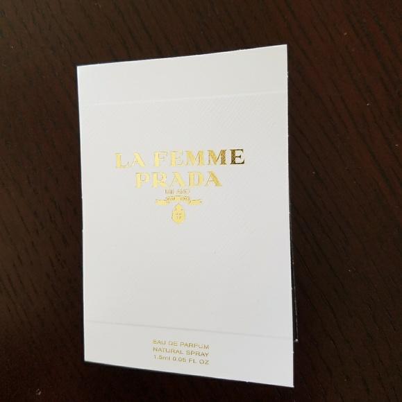 Prada Eau Femme Parfum Spray La De Sample 0kwOnP