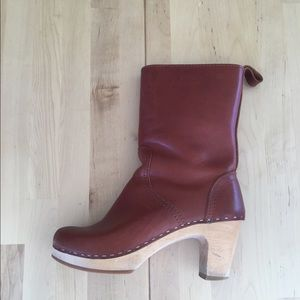 Swedish Hasbeens Shoes - Cognac Brown Swedish Hasbeen Boots Size 37
