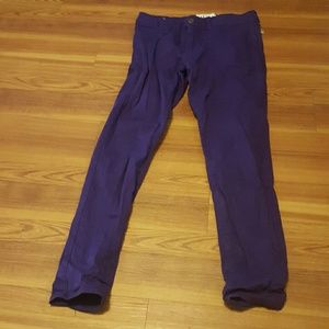 AKA New York Denim - AKA New York purple skinny jeans