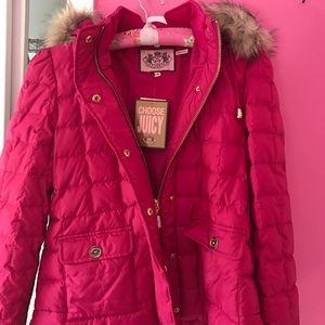 Juicy hooded winter coat