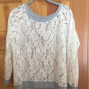 Knitworks Other - LACE TOP