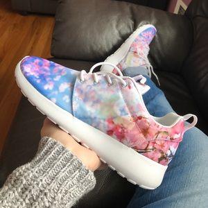 Nike Shoes - Nike Cherry Blossom Roshe One Sneakers