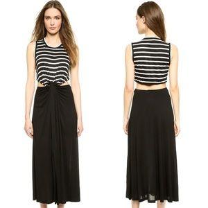 A.L.C. Dresses & Skirts - A.L.C. ALEJANDRO TWISTED KNOT JERSEY MAXI DRESS