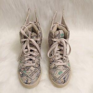 Jeremy Scott x Adidas Shoes - JEREMY SCOTT Wings 2.0 Money