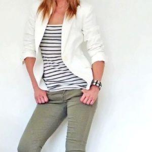 Zara Jackets & Blazers - Zara Cream Blazer. Size 6.