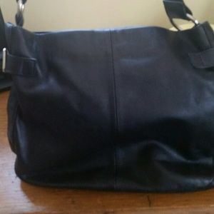 Leather Gap Shoulder Bag EUC
