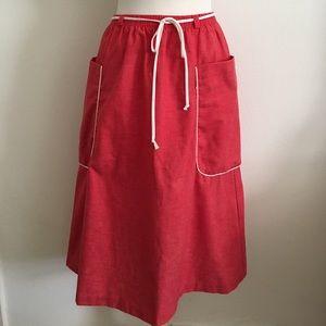 Vintage Chambray Skirt