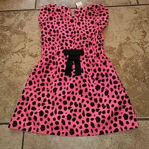 10.Deep Other - Girls sz.4/5 cute neon polyester spring dress!!