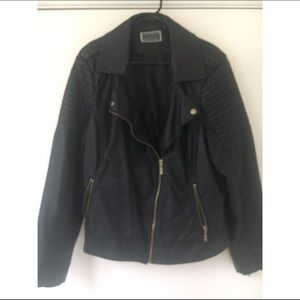 Inspire Jackets & Blazers - Leather motorcycle Jacket