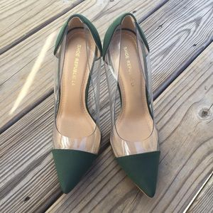 shoe republic la Shoes - Shoe Republica LA PVC Heels like Louboutin Debout