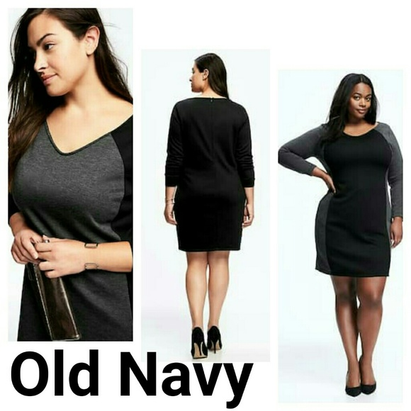Old Navy Dresses New Colorblocked Bodycon Dress 4x Plus Size