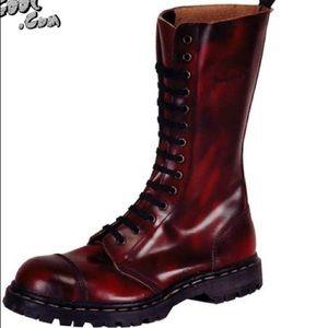 Dr. Martens Shoes - 14eye red Oxblood steel toe Doc Martens UK size 35