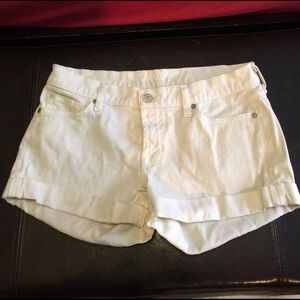 7 For All Mankind Pants - 7 for all mankind cuffed shorts size 27 Super nice