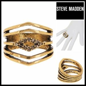 Steve Madden Jewelry - ❗️1-HOUR SALE❗️STEVE MADDEN STATEMENT RING