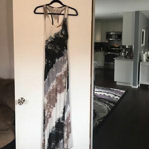 Monteau Dresses & Skirts - Monteau Multicolor Racerback Maxi Dress