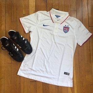New Without Tags US Women's Soccer Jersey