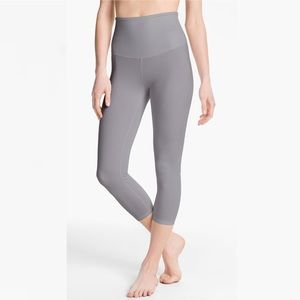 Yummie by Heather Thomson Pants - Yummie light grey shapewear cropped leggings small