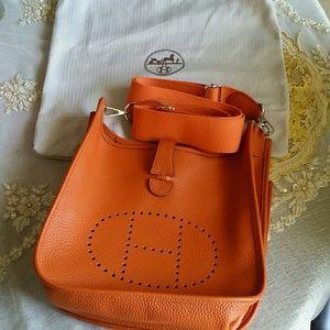 Hermes Handbags - H Evelyn bag new