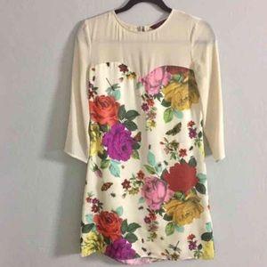 Ted Baker London Dresses & Skirts - Ted baker garden print sweetheart dress