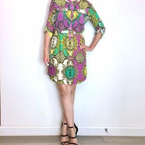 Anthropologie Dresses & Skirts - :: Yoana Baraschi Anthropologie Print Shirt Dress