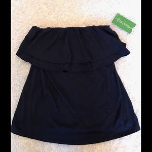 Lilly Pulitzer Other - Lilly Pulitzer Navy Blue Tube Top