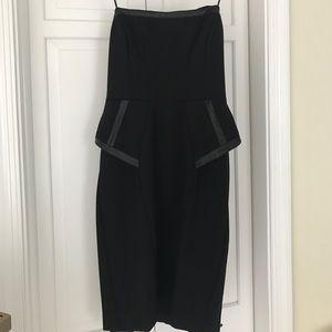 ABS Allen Schwartz Dresses & Skirts - ABS Black Strapless Dress
