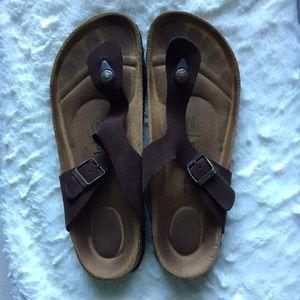 Birkenstock Shoes - Betula by Birkenstock brown strap sandals