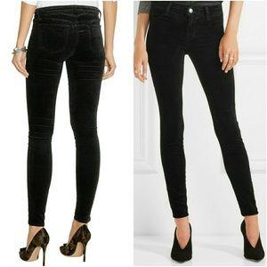 J Brand Denim - J brand velvet skinny jeans