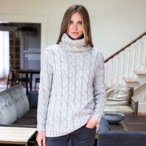Emerson Fry Sweaters - Emerson Fry Alpaca Wool Turtleneck Sweater