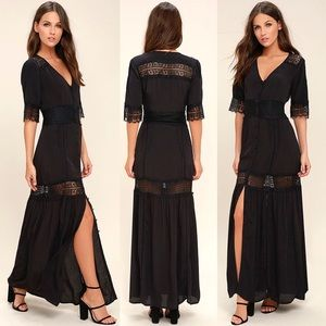 Stone Cold Fox Dresses & Skirts - ✨FLASH SALE $90✨Amuse Society Woven Crepe Maxi