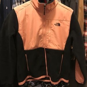 North Face Jackets & Blazers - M women's NF Dusty Rose/Black jacket