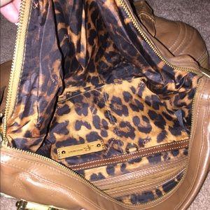b makowsky Handbags - B. Makowsky tan leather bag