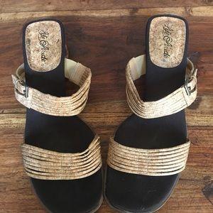 Life Stride Shoes - Life Stride Heeled Sandals.