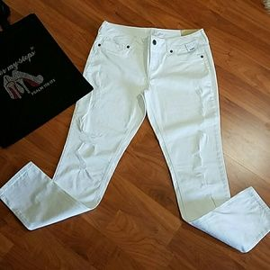 Maurices Denim - Maurice's White Distressed Jeggings
