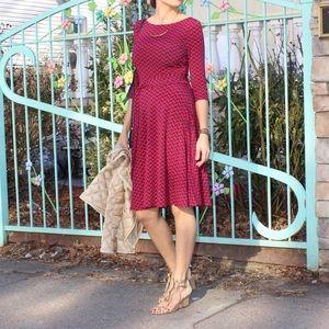 Leota Dresses & Skirts - NEW Leota Ilana Berry Midi Dress