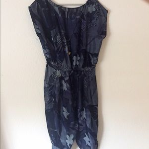 Zimmermann Pants - Zimmermann Silk Sheer Playsuit Jumpsuit