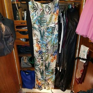 5th & Ocean Pants - IRIS jumpsuit strapless
