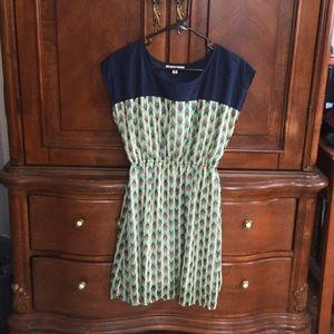 Ya Los Angeles Dresses & Skirts - Chevron dress.