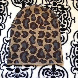 Neff Other - Neff Cheetah Print Beanie/hat